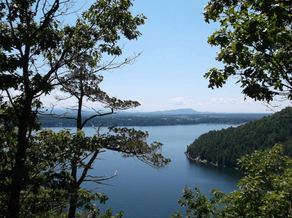 View from Split Rock Mountain