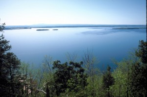 view from eagle mountain lookout in Milton photo credit Lake Champlain Land Trust web version