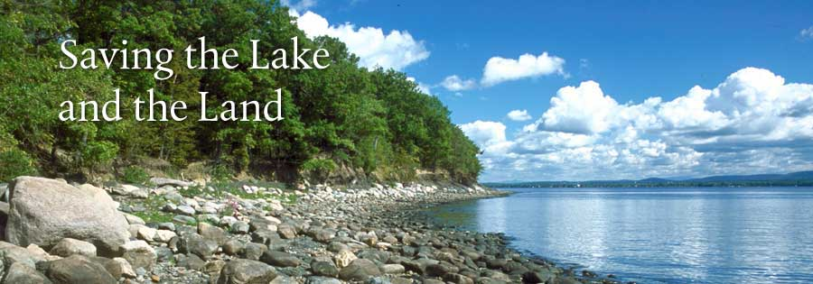 Saving Lake Champlain and the surrounding land