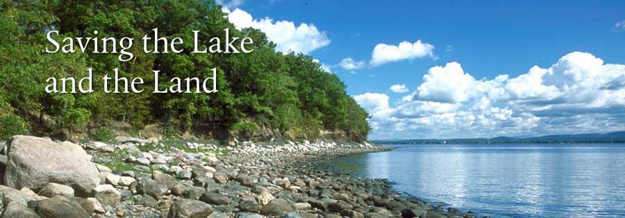 Saving Lake Champlain and the surrounding land