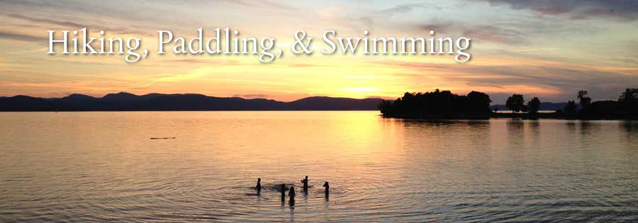Places to Hike and Paddle around Lake Champlain