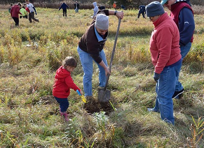 LaPlatte Tree Planting 8