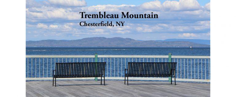 Trembleau Mountain from Waterfront Park Burlington VT