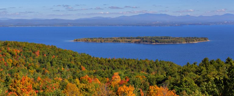 Early Fall View from Trembleau Mountain