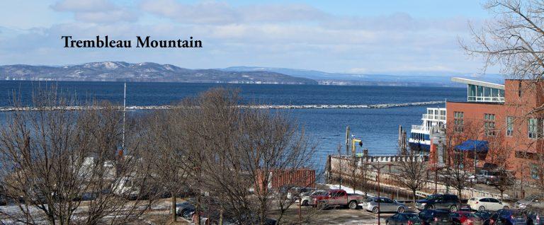 Trembleau Mountain from Burlington