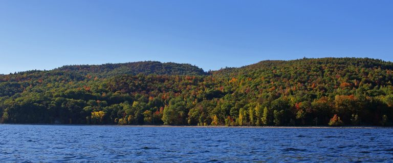 Trembleau Mountain from the Lake