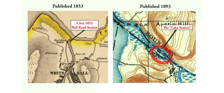 1853 Map vs 1866 Map – Revised 2